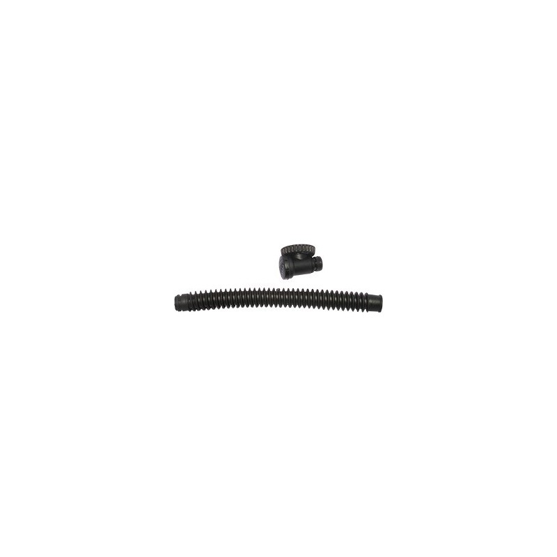 Corr. Hose 34 cm for Wings NO inflator, knee, Rapid Exhaust Valve