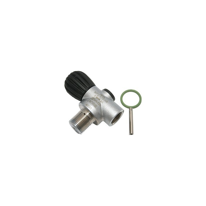 Mono RB Valve 230 bar M25x2, Handwheel Inline