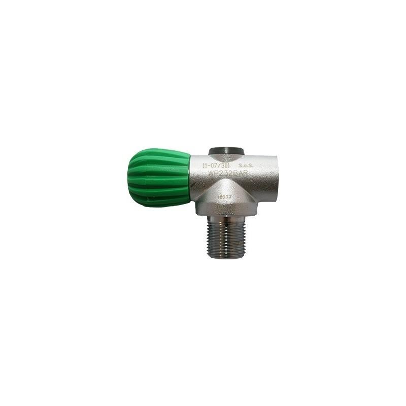 Mono RB Valve 230 bar M26x2, Handwheel Inline