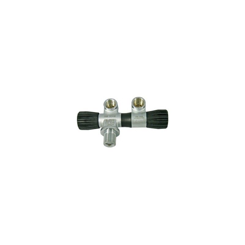 Extendable Lavo Valve with Swivel 2nd Outlet, 230 Bar