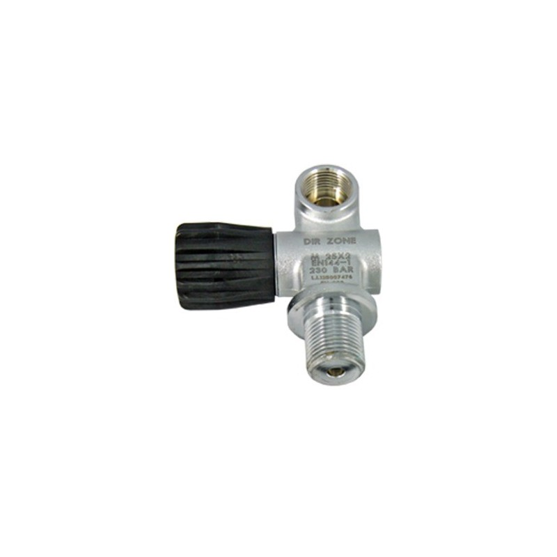Extendable Lavo Valve, ext. for Swivel 2nd Outlet, with Blanking Plug, 230 Bar