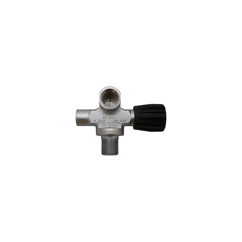 Extendable Valve left DIN 144 300 Bar, no blanking plug