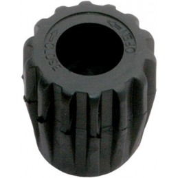 Rubber Knob Black