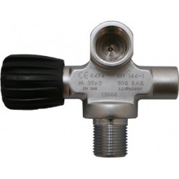 Extendable Valve right DIN 144 300 Bar, no blanking plug
