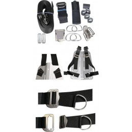 DIR ZONE ADJUSTABLE HARNESS FOR BACKPLATE INCLUDED HARDWARE