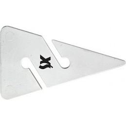 XS Cave Arrow White 85 mm 1 Piece