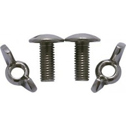 DZ Screw Set of 2  M8x25 mm Backplate 3 mm