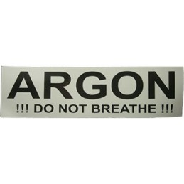 Sticker ARGON (small 17x5 cm)