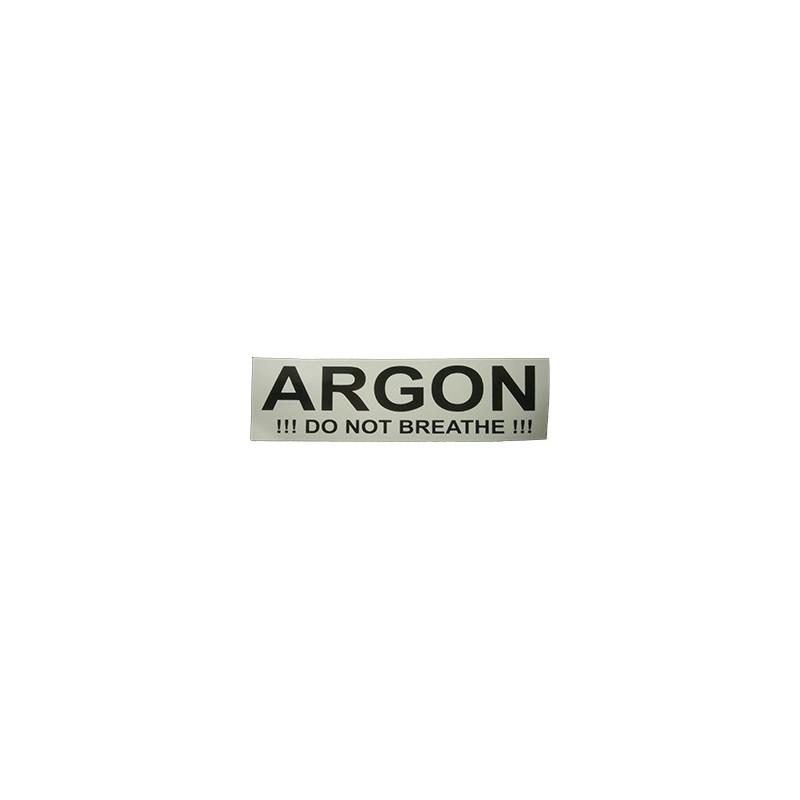 Sticker ARGON (small 17x5 cm)