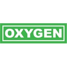 Oxygen Sticker 25,5x7,5 cm