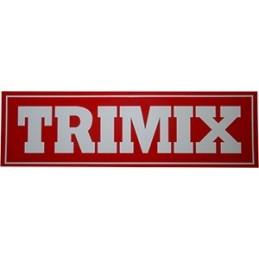 TRIMIX Sticker 25,5x7,5 cm