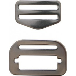 ADJUSTABLE STAINLESS STEEL BUCKLE FOR WEBBING QUICK RELEASE