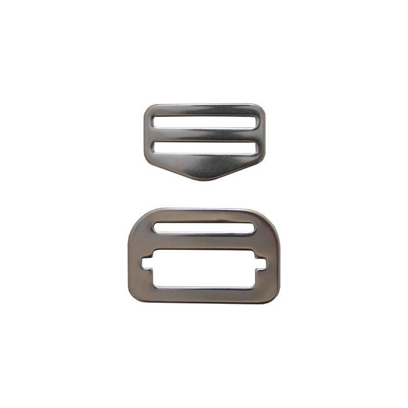 Adjustable SS Belt Buckle ( 1 Set )