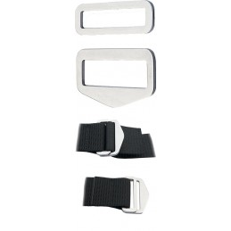 Adjustable SS Belt Buckle QUICK FIX ( 1 Set )
