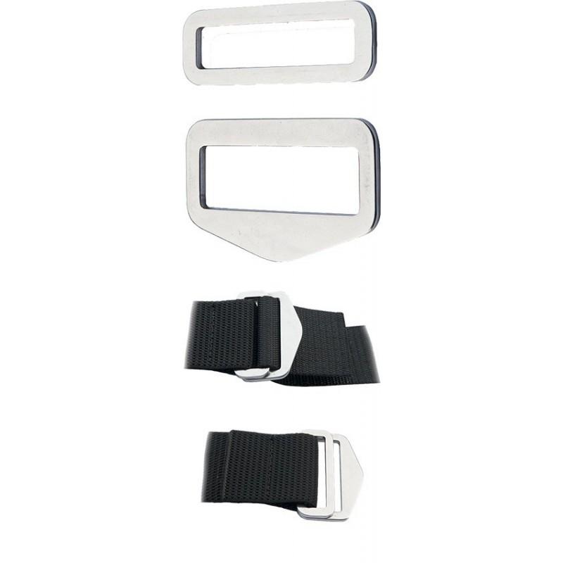Adjustable SS Belt Buckle QUICK FIX ( 1 Set )
