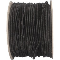 Bungee Cord, 3 mm, black, 1 m