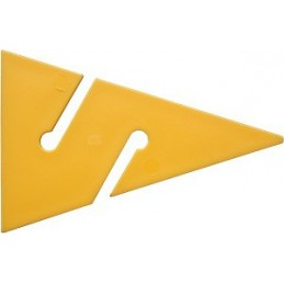DIR ZONE Cave Arrow yellow 90 mm 10 Pcs.