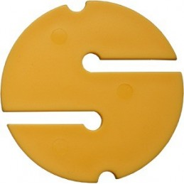 DIR ZONE Cave Marker yellow 55 mm 10 Pcs.