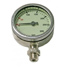 PRESSURE GAUGE DIR STYLE 360 BAR SPG 0-360 BAR WITH SWIVEL