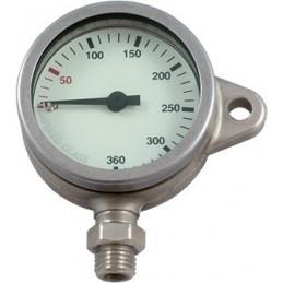 PRESSURE GAUGE SPG52 MM 0-360 Bar, Tempered Glass, SNAP