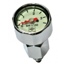 PRESSURE GAUGE HighlAND Mini Tech SPG - BAR incl Swivel AND Adapter HL403