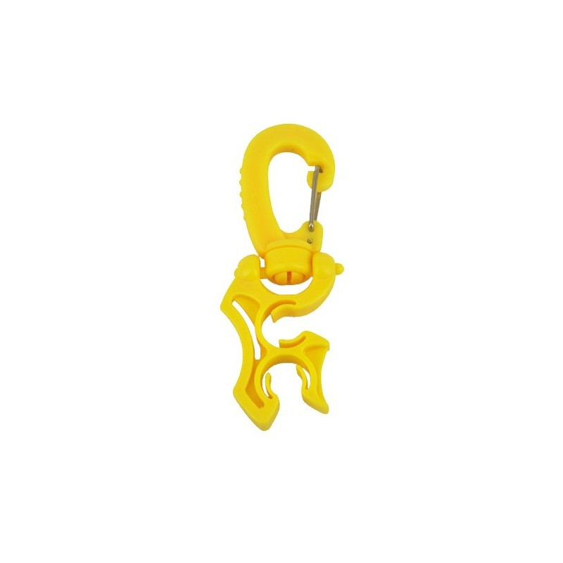Hose Holder Clip Yellow for 2x Standard Hose ( Pac of 5 pcs. )