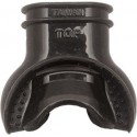 Comfort Silicone Mouthpiece Black ( Pac of 5 pcs. )