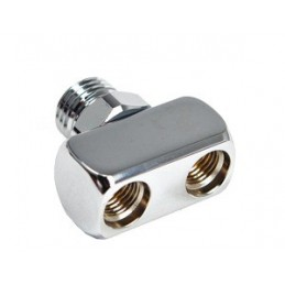Adapter LP Hose Splitter 1x Male 9/16 to 2x Female 3/8""""