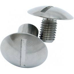 Book Screw 1 Set (Male & Female) Round