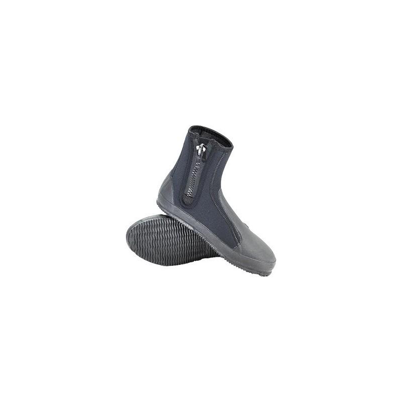 XS Scuba 6 mm Deluxe Zipper Zipper Boots Size 05/ European 37