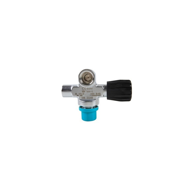 Extendable Valve right DIN 144, 230 Bar, no blanking plug