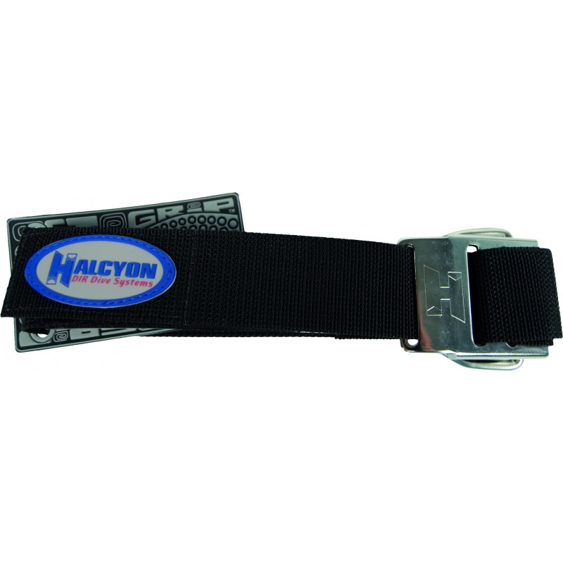 Cylinder strap with SS Halcyon buckle (1 piece)