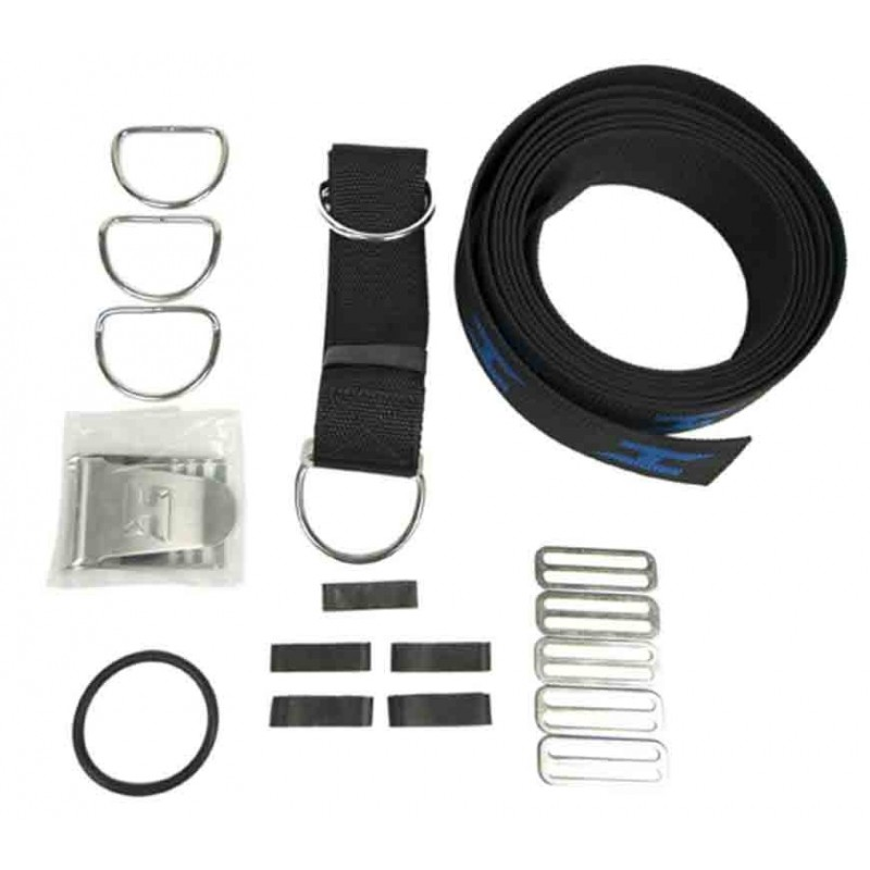 Webbing Replacement for Harness, including hardware and crotch-strap