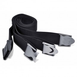 WEIGHT BELT BLACK OR YELLOW BUCKLE NYLON OR STAINLESS STEEL