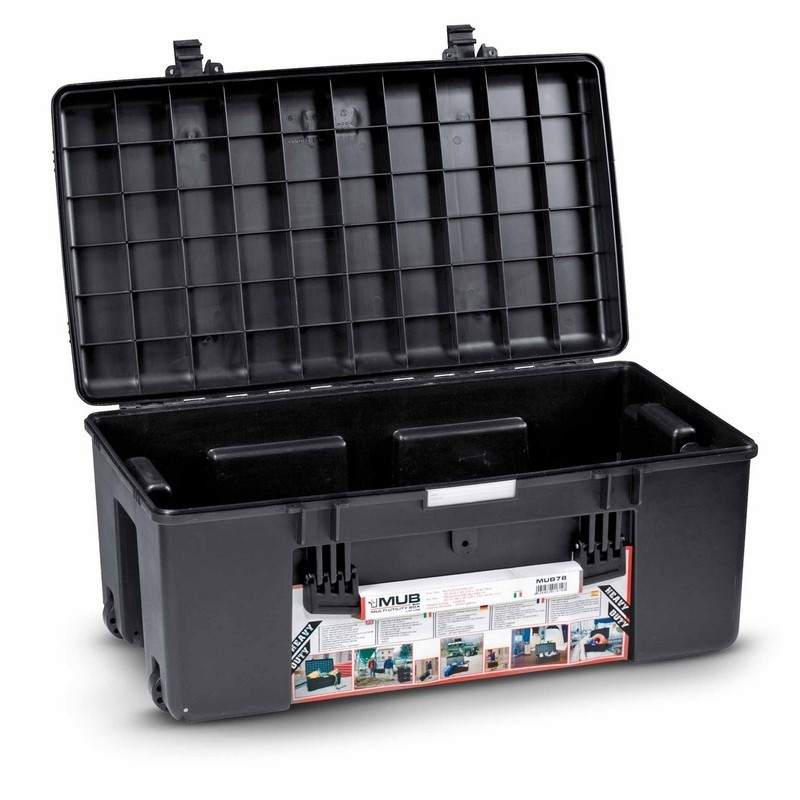 EXPLORER CASES WATERPROOF MUB 807X470X345 NERO TROLLEY