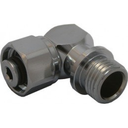 DIR ZONE SECOND STAGE LP SWIVEL ADAPTER 90 RIGHT ANGLE 9/16M 9/16 F