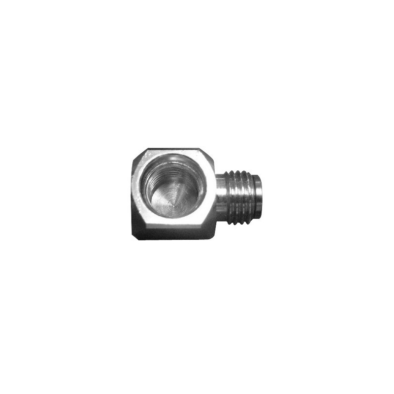 Adapter 90 UNF 7/16 Male to UNF 7/16 Female