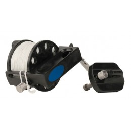 SPOOL DEFENDER PRO 200 HALCYON WITH EASY GRIP AND STAINLESS STEEL DOUBLE ENDER
