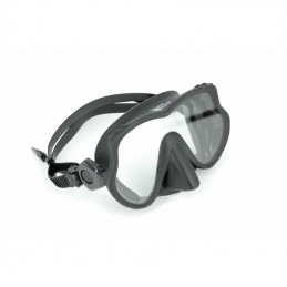 MASK FRAMELESS BEST DIVERS NARVALLO WITH BLACK SILICONE