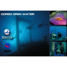 CORSO PADI OPEN WATER DIVER