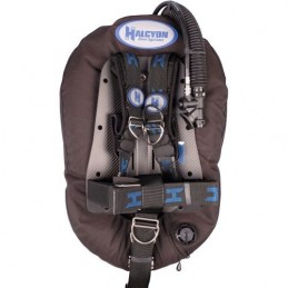 BCD HALCYON FOR SINGLE TANK ADVENTURE PLUS MC SYSTEM WITH CARBON FIBER BACKPLATE AL HARDWARE