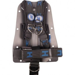 CF backplate with complete Cinch Quick-adjust Harness and Stainless hardware