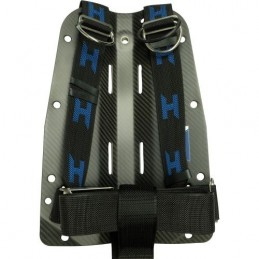 CF backplate with complete Secure Harness and Stainless Hardware