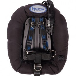 40 lbs (18,1 kg) Element Plus MC System with CF cinch backplate SS hardware