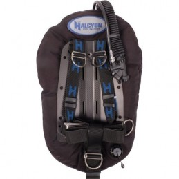 BCD HALCYON FOR SINGLE TANK ADVENTURE PLUS MC SYSTEM WITH CARBON FIBER BACKPLATE SS HARDWARE