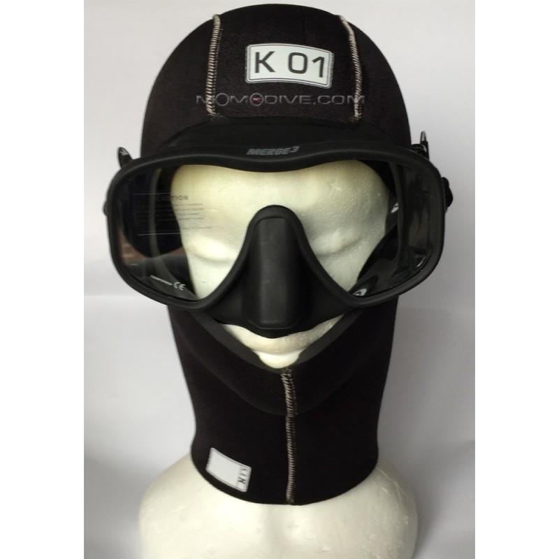 K01 CAPPUCCIO IN NEOPRENE 8 MM SPYDER HOOD K01