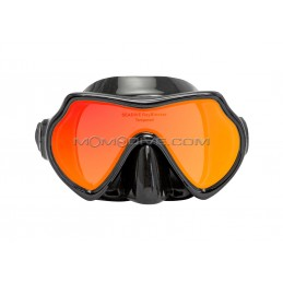 HALCYON Dual lens mask (low profile) with black frame & skirt
