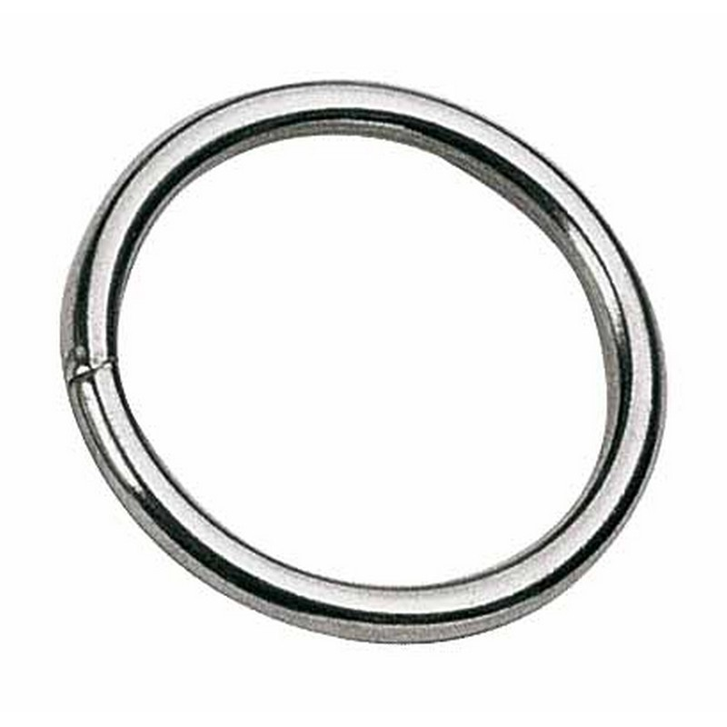 RING STAINLESS STEEL 50 MM FOR LEASH