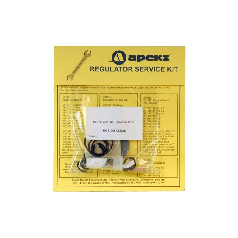 Apeks Service Kit 1st AP0241
