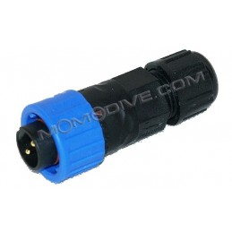 MALE CONNECTOR PLUG FOR SANTI HEATING SYSTEM